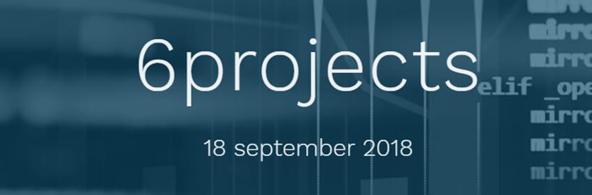 6projects: tijd om technische hoogstandjes te vieren