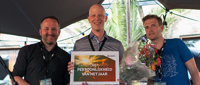 In the spotlights: Bart Veldhuis (Weolcan) is Persoonlijkheid van het Jaar