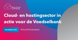 Dutch Cloud Community in actie voor de Voedselbank