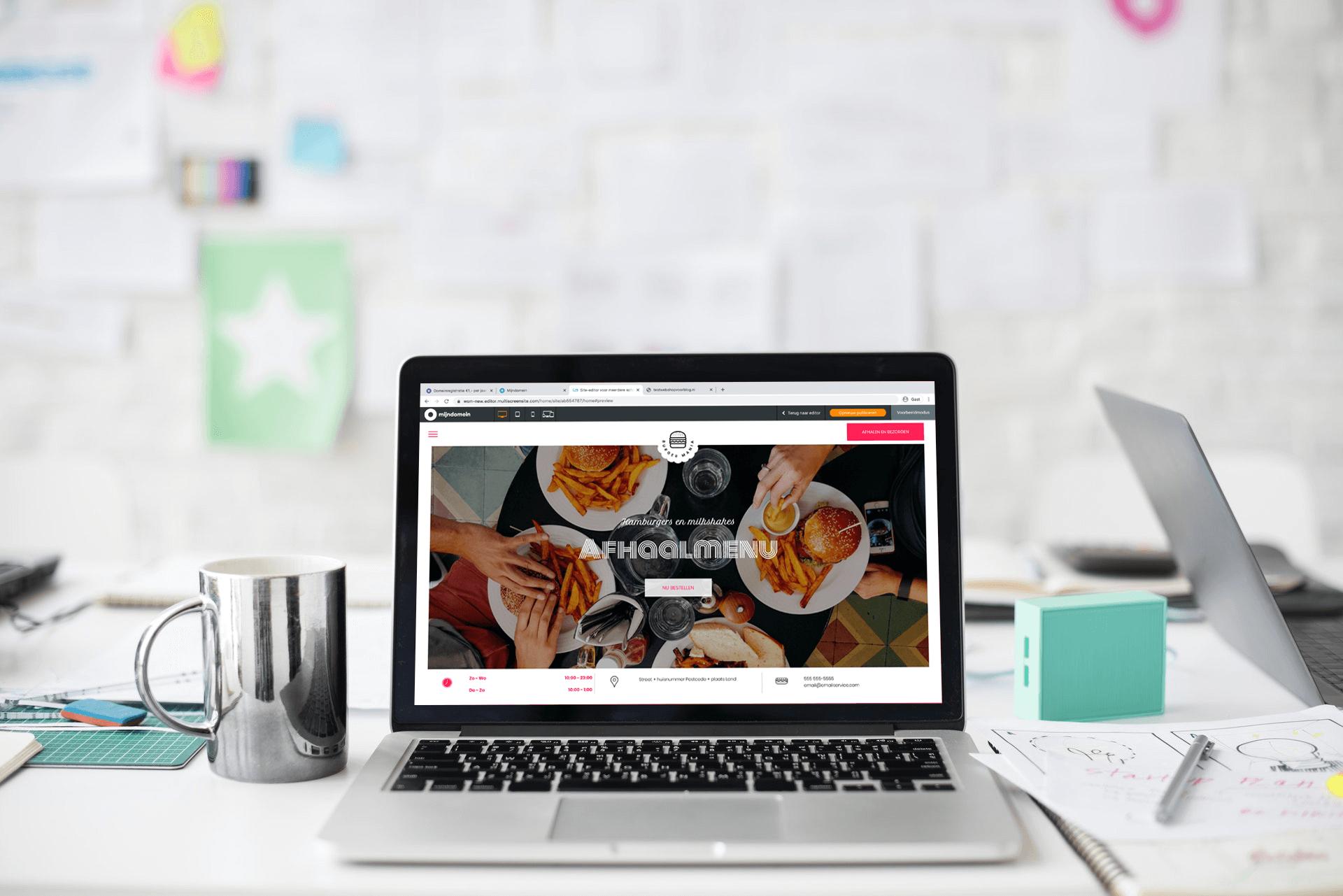 Maak een online doorstart met je restaurant via online bestellen