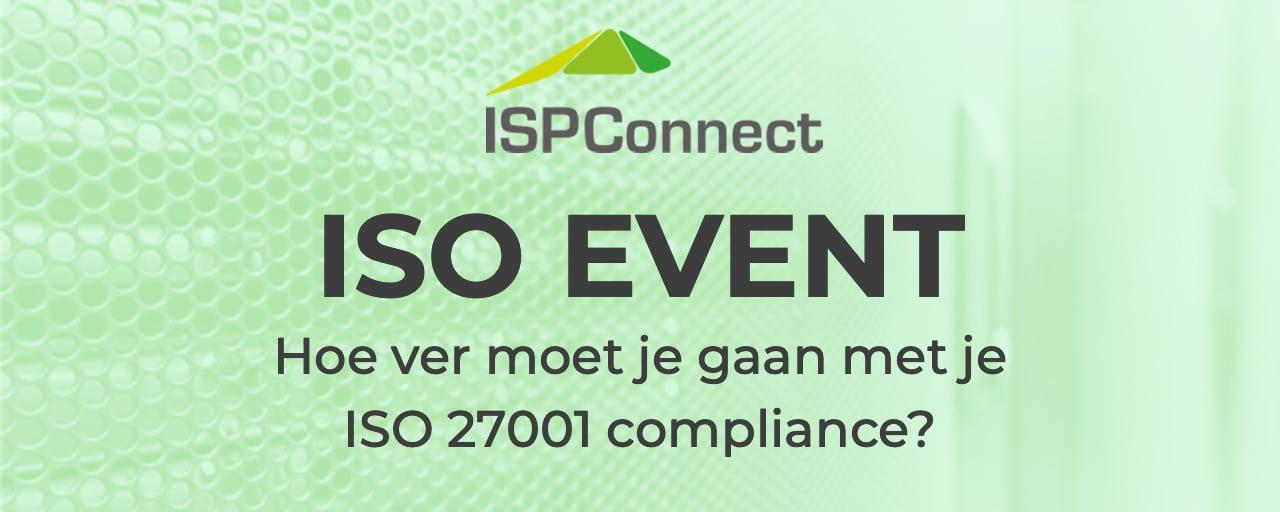 Bezoek ons event over ISO 27001 compliance!