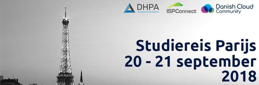 ISPConnect, DHPA en Danish Cloud Community organiseren studiereis naar Parijs