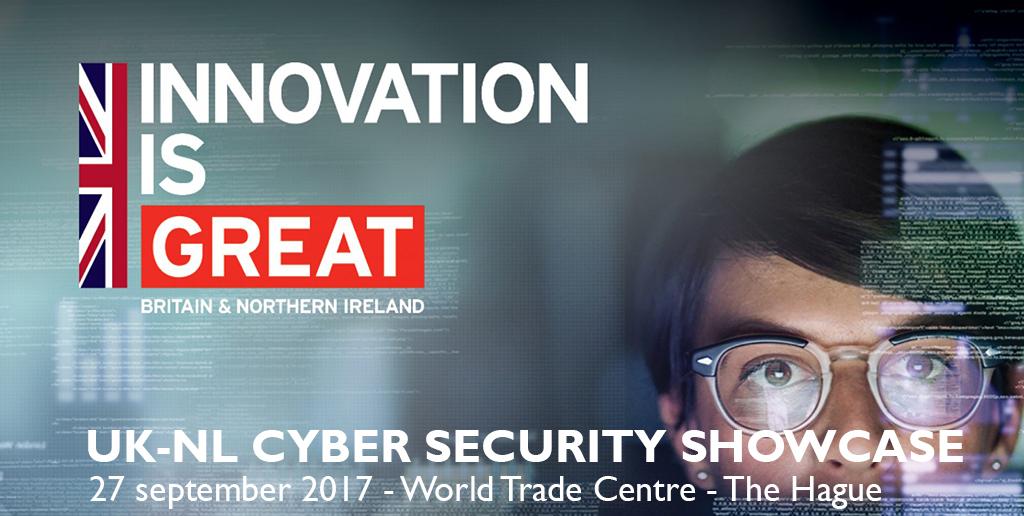 UK-NL Cyber Security Showcase 2017