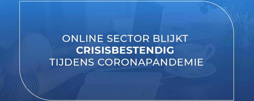 Online sector blijkt crisisbestendig tijdens coronapandemie