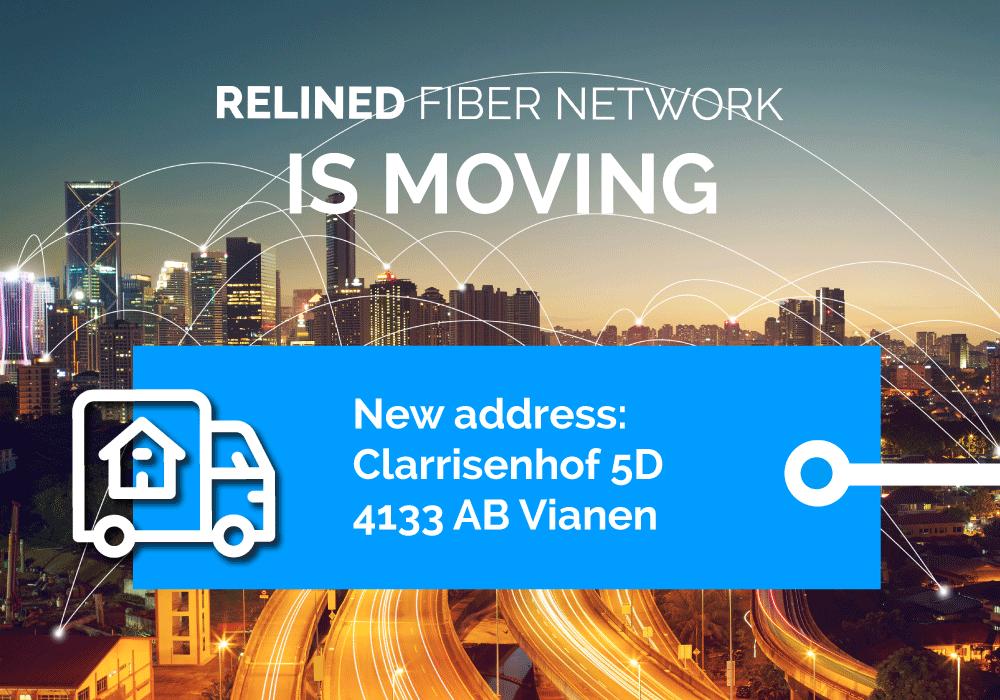 Relined Fiber Network verhuist naar nieuw pand om verdere groei van de organisatie te kunnen realiseren