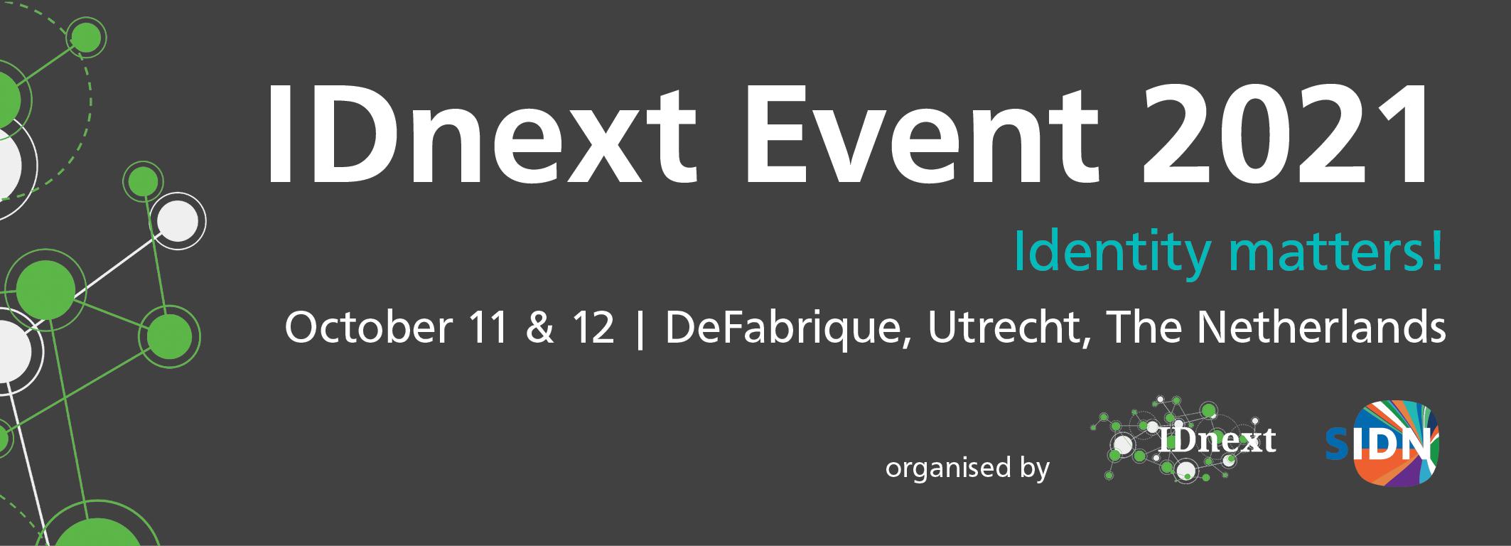 IDnext '21 : Annual IDnext program – IDnext